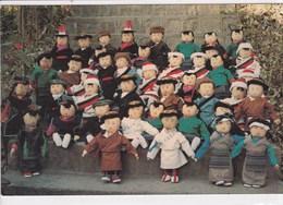 TIBET Poupées Tenzin Et Dolma En Costumes Régionaux Tibétains ,Tenzin And Dolma Rag Dolls In Various Tibetan - Tibet