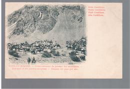 CHILE  Alta Cordillera Empezo Del Paso Por Alto Ca 1910 OLD POSTCARD 2 Scans - Cile