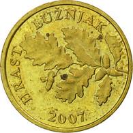 Monnaie, Croatie, 5 Lipa, 2007, TB+, Brass Plated Steel, KM:5 - Croatia