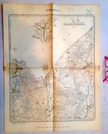 OUDE STAFKAART 8/4 Situatie 1871 WEELDE RAVELS BAARLE-HERTOG BAARLE-NASSAU WEELDE-STATION Heemkunde Geschiedenis S358 - Ravels