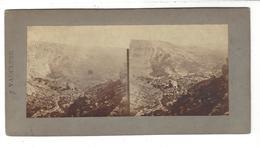 "EDOUARD BALDUS ( 1813 - 1889 ) Photographie Stéréo "" 9 - Vaucluse "" ( Vers 1855 - 60 ) - Stereoscopic"