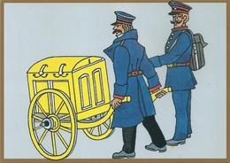 B2616 Germany Postcard Post Job Profession - Postal Services
