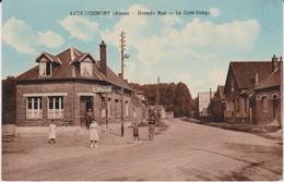Aisne :  LUCY - RIBEMONT :  Grande  Rue , Le  Café - Tabac  1959 - France