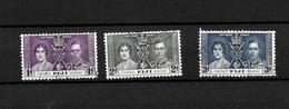 Fiji KGVI 1937 Coronation, Complete Set Used (7047) - Fiji (...-1970)