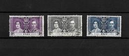 Fiji KGVI 1937 Coronation, Complete Set Used (7048) - Fiji (...-1970)
