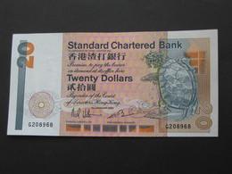 HONG-KONG  Twenty 20 Dollars - Standard Chartered Bank  *****  EN ACHAT IMMEDIAT **** - Hong Kong