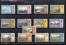 FALKLAND DEPENDANCES 77/89** SUR DES VUES DE L ILE  MANQUE LES 2 GROSSES VALEURS - Falkland