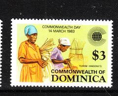 Dominica  - 1983. Artigianato Indigeno. Handicrafts. MNH - Professioni