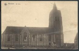 CPA Merckem De Kerk (pli) - Houthulst