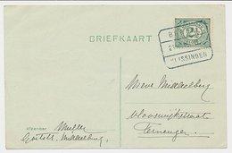 Treinblokstempel : Breda - Vlissingen D 1916 - Periode 1891-1948 (Wilhelmina)