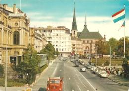 LUX - Luxembourg - Boulevard Roosevelt, Place De La Constitution Et Cathédrale - Ed. E.-A. Schaak N° 1160 (circ. 1979) - Luxemburg - Stadt