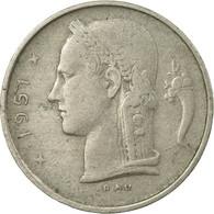 Monnaie, Belgique, Franc, 1951, TTB, Copper-nickel, KM:142.1 - 1951-1993: Baudouin I