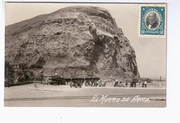 CHILE El Morro De Arica Ca 1930 OLD PHOTO POSTCARD 2 Scans - Cile