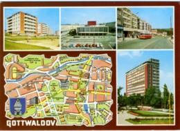 CZECH REPUBLIKA  REPUBBLICA CECA  GOTTWALDOV  Multiview - Carte Geografiche