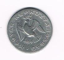 &   HONGARIJE  10  FILLER  1959  BP - Hongrie