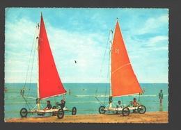 Blankenberge (verzonden Uit) - Zeilwagens / Chars à Voile / Segelwagen / Sailing Car - Geanimeerd - Blankenberge