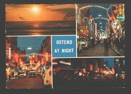Oostende / Ostend At Night - VW Kever / Käfer / Coccinelle - 1967 - Multiview - Oostende