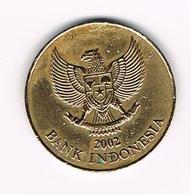 & INDONESIE  500  RUPIAH  2002 - Indonésie