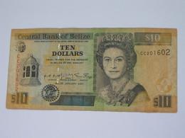 Ten 10 Dollar 1997-2001  BELIZE - Central Bank Of Belize **** EN  ACHAT IMMEDIAT  **** - Belize