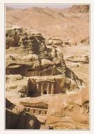 Au Sud Du Jebel El Chara La Montagne De Roche Rose à Engendré La Ville De Pétra - Jordanie