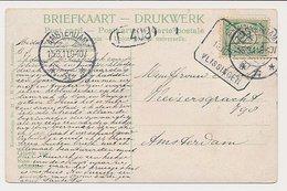 Treinblokstempel : Breda - Vlissingen II 1911 - Periode 1891-1948 (Wilhelmina)