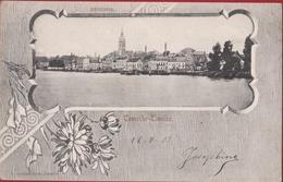 Temse Tamise Temsche Panorma 1903 Stempel Cachet Rupelmonde (In Zeer Goede Staat) - Temse