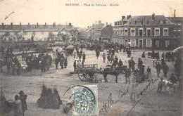 27-BRIONNE- PLACE DE LORRAINE- MARCHE - Autres Communes