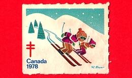 CANADA - Usato - 1978 - Cinderella - Etichetta Di Fantasia - Tubercolosi - TBC - Etichette Di Fantasia