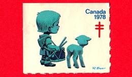 CANADA - Usato - 1978 - Cinderella - Etichetta Di Fantasia - Tubercolosi - TBC - Fantasy Labels