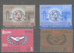 2 Series De Ceilán Nº Yvert 353/54 Y 355/56 ** - Sri Lanka (Ceilán) (1948-...)
