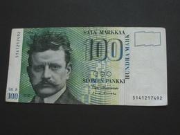 100 Sata Markkaa - Suomen Pankki - FINLANDE 1986  **** EN ACHAT IMMEDIAT **** - Finlande
