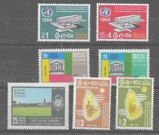 3 Series De Ceilán Nº Yvert 366/67, 368/69 Y 370 ** - Sri Lanka (Ceilán) (1948-...)