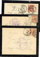 R10-3 Lettres Avec Bandelette Millesimée - Franchigia Militare (francobolli)
