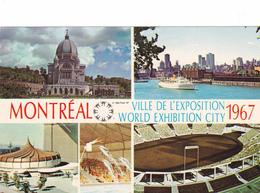 """MONTREAL """"Expo67"""" Oratoir St Joseph,Autostade,Le Cirque Marin ALCAN,Montréal""""  Non-écrite  Voir Scans  Scans - Montreal"""