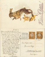 D - [500025]Allemagne 1932 -  Animaux, Personnages - Germania