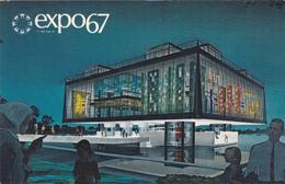 """MONTREAL """"Expo67"""" Pavillon De La Province Du QUEBEC  Non-écrite  Voir Scans  Scans - Montreal"""