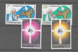 2 Series De Christmas Nº Yvert 59/60 Y 61/62 ** - Christmas Island