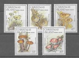 Serie De Christmas Nº Yvert 189/93 ** - Christmas Island