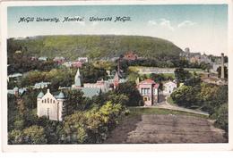 "MONTREAL +/-1910  ""McGill University - Université McGill"" ""  Voir Scans - Montreal"
