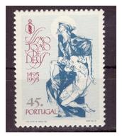 PORTOGALLO - 1995 - 5° CENTENARIO DELLA NASCITA DI SAN GIOVANNI DI DIO, FONDATORE DELL'ORDINE OSPEDALIERO.. - MNH** - 1910-... Republic