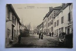 CPA 15 CANTAL SAINT CERNIN. La Gendarmerie. - Other Municipalities