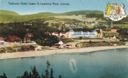 """LOWER ST LAWRENCE RIVER """" Tadousac Hotel""""   1910   Voir Scans - Montreal"""