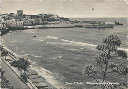 W402 Isola D'Ischia (Napoli) - Forio - Barche Boats Bateaux - Panorama Dalla Litoranea / Viaggiata 1956 - Autres Villes