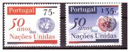 PORTOGALLO - 1995 - CINQUANTENARIO DELLE NAZIONI UNITE. SERIE COMPLETA. - MNH** - 1910-... Republic
