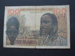 100 Francs 2.3.1965- BENIN - Banque Centrale Des Etats De L'Afrique De L'Ouest  **** EN ACHAT IMMEDIAT **** - Bénin