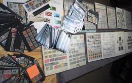 GROS VRAC DE TIMBRES - Stamps