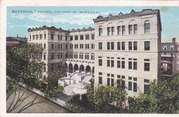 """MONTREAL +/- 1910  """" Montréal University - Université De Montréal  """"     Voir Scans - Montreal"""