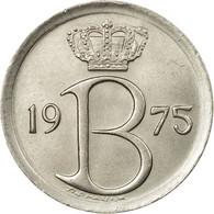 Monnaie, Belgique, 25 Centimes, 1975, Bruxelles, TTB, Copper-nickel, KM:153.1 - 02. 25 Centimes