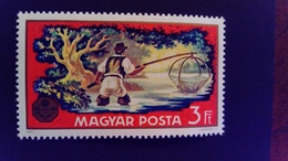 Hongrie Hungary 1971 Exposition Exhibition Pêche Fishing Yvert 2158 ** MNH - Ungarn