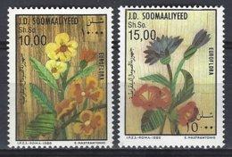 Somalia  Yv 335/6, Euroflora 1986  ** Mnh - Somalie (1960-...)